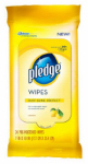 S C Johnson Wax 72807 Dispoable Dust Cloths/ Furniture Wipes. Lemon Scented, 24-count