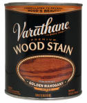 Rust-Oleum 211718H Varathane Qt. Golden Mahogany Premium Oil-Based Interior Wood Stain