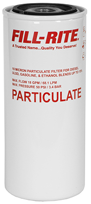 Fill Rite F1810PM0 Particulate Spin on Fuel Dispenser Filter