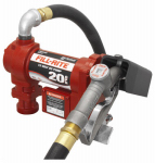 Tuthill FR4210G Fill Rite DC Pump, High Flow, Heavy-Duty Cast Iron, 20 GPM, 12-Volt