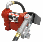 Tuthill FR610G Fill Rite Pump, Contractor Grade, 15 GPM, 115-Volt