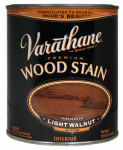 Rust-Oleum 211719H Varathane Qt. Light Walnut Premium Oil-Based Interior Wood Stain