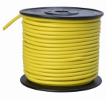 Coleman Cable 55672223 Primary Wire, Yellow PVC, 10-Ga. Stranded Copper, 100', Sold In Store by the Foot