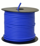Coleman Cable 55671623 Primary Wire, Blue PVC, 12-Ga. Stranded Copper, 100', Sold In Store by the Foot