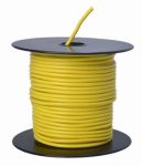 Coleman Cable 55670823 Primary Wire, Yellow PVC, 14-Ga. Stranded Copper, 100', Sold In Store by the Foot