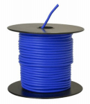 Coleman Cable 14-100-12 Primary Wire, Blue PVC, 14-Ga. Stranded Copper, Sold In Store by the Foot