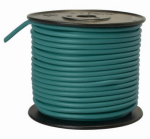 Coleman Cable 10-100-15 Primary Wire, Green PVC, 10-Ga. Stranded Copper, Sold In Store by the Foot