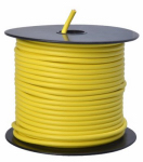 Coleman Cable 12-100-14 Primary Wire, Yellow PVC, 12-Ga. Stranded Copper, Sold In Store by the Foot