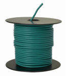 Coleman Cable 14-100-15 Primary Wire, Green PVC, 14-Ga. Stranded Copper, Sold In Store by the Foot