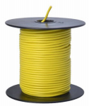 Coleman Cable 55843823 Primary Wire, Yellow PVC, 18-Ga. Stranded Copper, Sold In Store by the Foot
