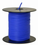 Coleman Cable 55667623 Primary Wire, Blue PVC, 18-Ga. Stranded Copper, 100', Sold In Store by the Foot