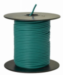 Coleman Cable 55835023 Primary Wire, Green PVC, 18-Ga. Stranded Copper, 100', Sold In Store by the Foot