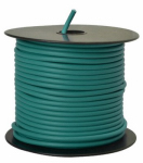Coleman Cable 55678923 Primary Wire, Green PVC, 12-Ga. Stranded Copper, 100', Sold In Store by the Foot