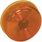 Tiger Accessory Group B836A Sealed Light, Amber Acrylic, 2-1/2-In.