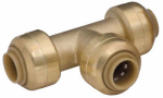 Sharkbite/Cash Acme U358LFA 1/4 x 1/4 x 1/4-In. Pipe Tee, Lead-Free