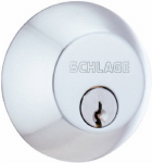 Schlage Lock B62CSV626 Satin Chrome Double-Cylinder Deadbolt Lock
