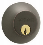Schlage Lock B62NV716 Aged Bronze Double Cylinder Deadbolt Lock