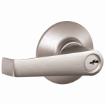 Schlage Lock F51CSVELA626 Satin Chrome Elan Design Entry Lever Lockset