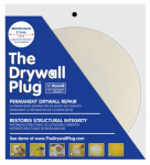 Construction Metals DP123 Drywall Repair Plug, 1/2 x 3-7/8-In.