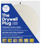 Construction Metals DP126 Drywall Repair Plug, 1/2 x 6-7/8-In.