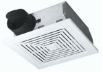 Broan-Nutone 689 Bathroom Exhaust Fan, 60 CFM, 5.5 Sones, 9.25 x 9-In.