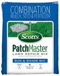 Scotts Lawns 14940 Patchmaster Sun & Shade Grass Repair Mix, 4.75LB