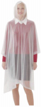 Tingley Rubber P68800 Emergency Poncho, Clear, One Size