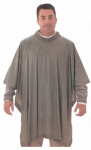 Tingley Rubber P68808 Emergency Poncho, Olive Drab, One Size