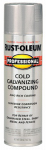 Rust-Oleum 7584838 Anti-Rust Galvanizing Compound, Fast-Dry, Flat Bright, 20-oz.