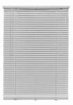Nien Made Usa 3672RDW Mini Blinds, Room Darkening, White PVC, 1 x 36 x 72-In.