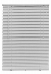 Nien Made Usa 5864LFW Mini Blinds, White PVC, 1 x 58 x 64-In.