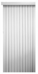 Nien Made Usa 7884VERTW Vertical Blinds, White PVC, 3-1/2 x 78 x 84-In.