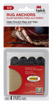 3M SRA-4 Tekk Protection Rug Anchors, 4-Pk.