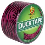 Shurtech Brands 280338 Pink Zebra Duct Tape, 1.88-Inch x 10-Yard