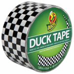 Shurtech Brands 280410 Checkers Duct Tape, 1.88-Inch x 10-Yard