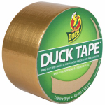 Shurtech Brands 280748 Gold Metallic Duct Tape, 1.88-Inch x 10-Yard