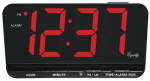 Geneva/Advance Clock 4584E LED Alarm Clock, Desk/Wall Mount, Battery-Operated