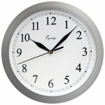 La Crosse Technology 25206 Wall Clock, Quartz, Battery-Operated, White, 10-In.