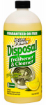 Scotch 1501 Instant Power Disposer Freshener & Cleaner, Lemon Scent, 1-Liter