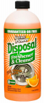 Scotch 1503 Instant Power Disposer Freshener & Cleaner, Orange Scent, 1-Liter