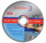 Ali Industries 13922 Cut+Grind Cutting & Grinding Wheel, 4-1/2 x 3/32 x 7/8-In., 5-Pk.