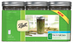 Jarden Home Brands 1440065500 Canning Jars, 24-oz., 9-Pc.