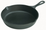 Lodge Mfg L3SK3 Cast Iron Skillet, 6-1/2-In.
