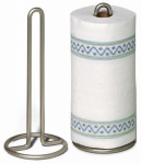 Spectrum Diversified Designs 41078 Euro Paper Towel Holder, Satin Nickel