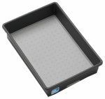 Madesmart Housewares 95-29696-06 Kitchen Storage Bin, Granite, 9 x 6 x 2-In.