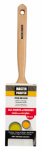 Shur-Line-Import 148215 Flat Paint Brush, Polyester Beavertail, 2-1/2-In.