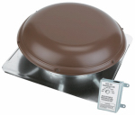 Air Vent 53831 Roof-Mount 1900-Sq. Ft. Power Attic Ventilator, Brown