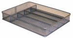 Honey Can Do Intl KCH-02154 Cutlery Tray, Metal Mesh, Small
