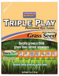 Bonide Products 60277 Triple Play Perennial Rye Grass Seed, 20-Lbs.