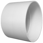 Charlotte Pipe & Foundry PVC 00100  1000HA Plastic Pipe Fitting, DWV  Coupling, PVC, 2-In.